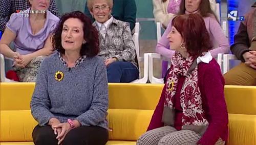 Entrevista a María Teresa Bello y Carmen Navarro en Aragón TV