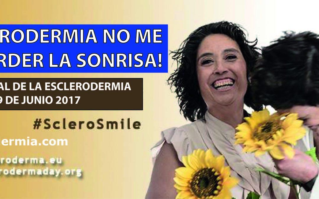 SONRIE CON NOSOTROS EN EL DIA MUNDIAL DE LA ESCLERODERMIA!