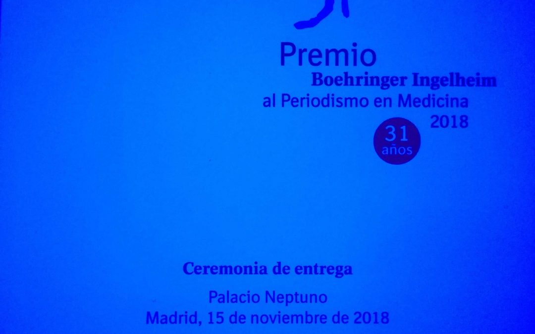 31 Premio al Periodismo en Medicina