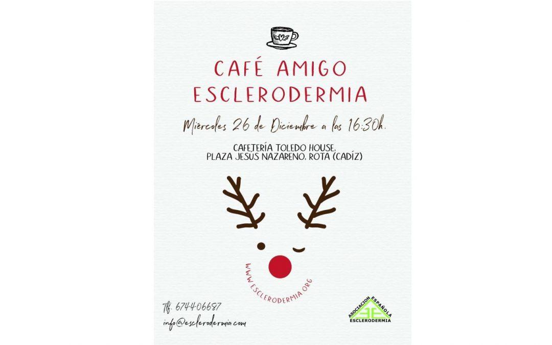 Café Amigos Esclerodermia en Rota, Diciembre 2018