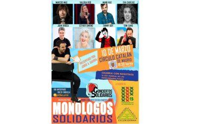 Monólogos Solidarios por las Enfermedades Raras