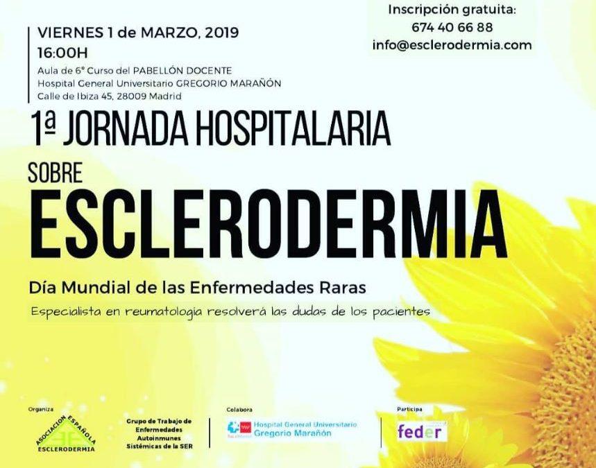 I Jornada Hospitalaria sobre Esclerodermia en H. Gregorio Marañón