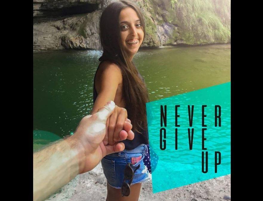El proyecto Aina #nevergiveup