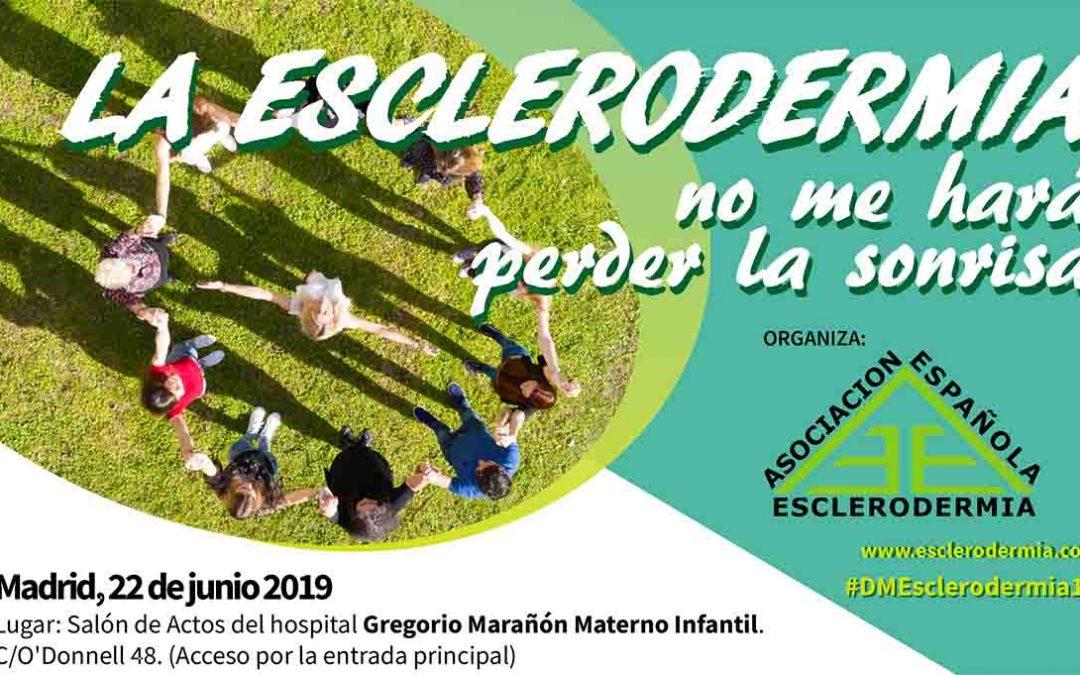Día Mundial de la Esclerodermia en Madrid