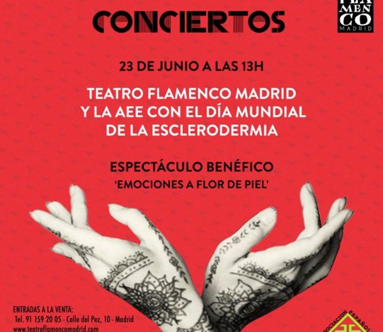 Juanma Iturriaga y Teatro Flamenco Madrid con la Esclerodermia