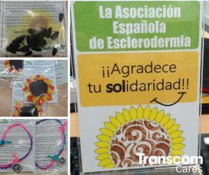 Stand de esclerodermia en Transcom