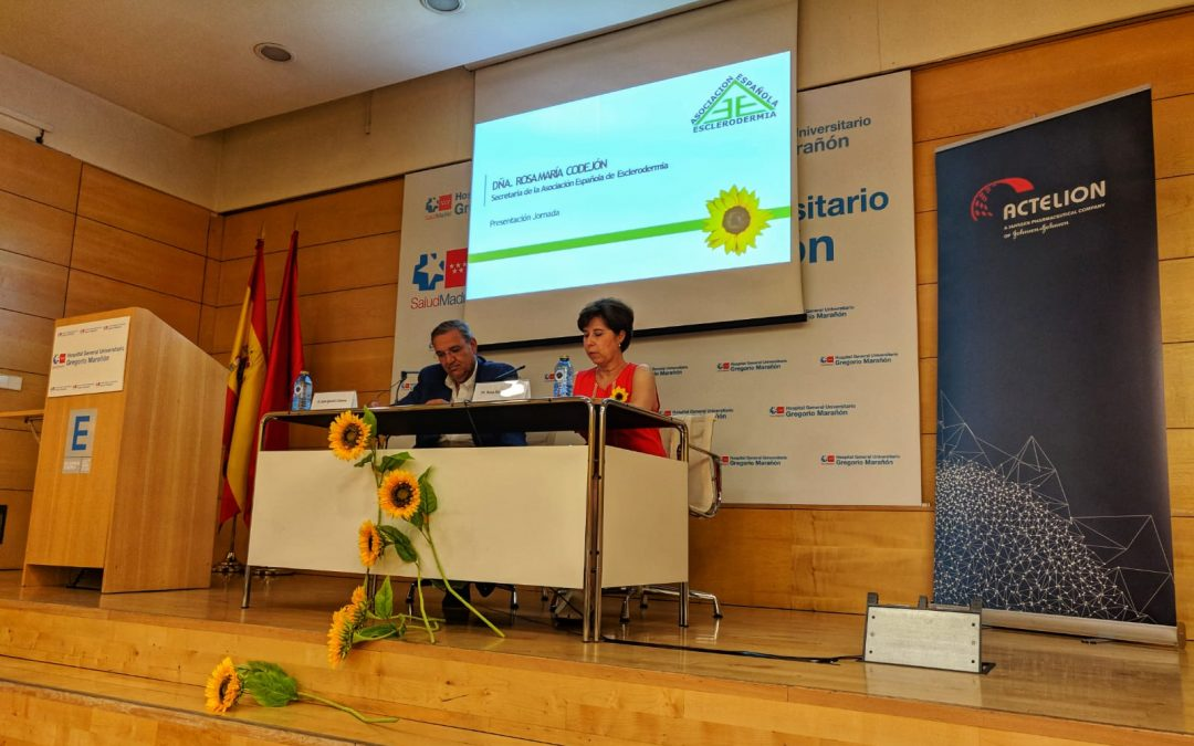 Resumen jornada médica #DMEsclerodermia19 en Madrid