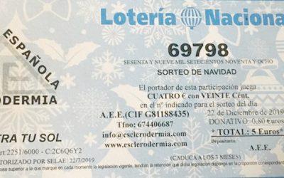 Colabora comprando #LoteriaEsclerodermia