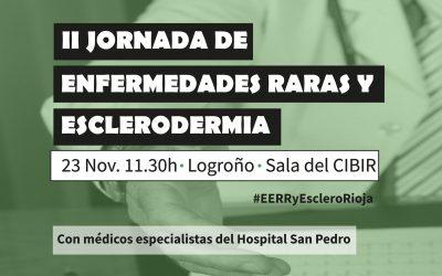 II Jornada de Enfermedades Raras y Esclerodermia en La Rioja