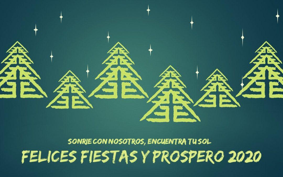 ¡Feliz Navidad y Prospero 2020!