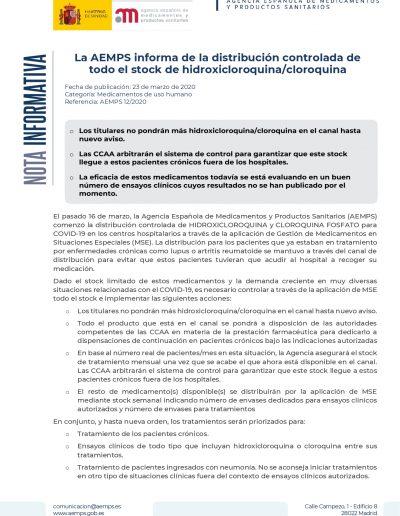 COVID-19 Distribución cloroquina-hidroxicloroquina NI 12-2020_page-0001