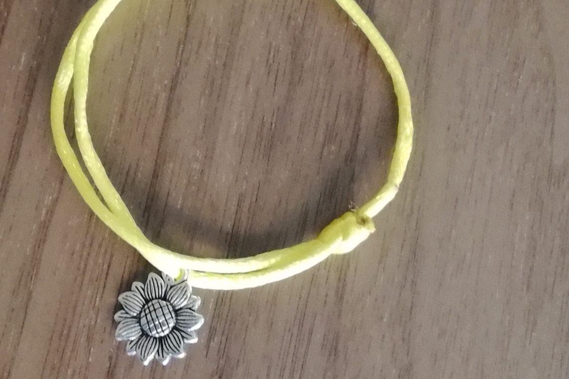 Pulsera Girasol Color amarillo