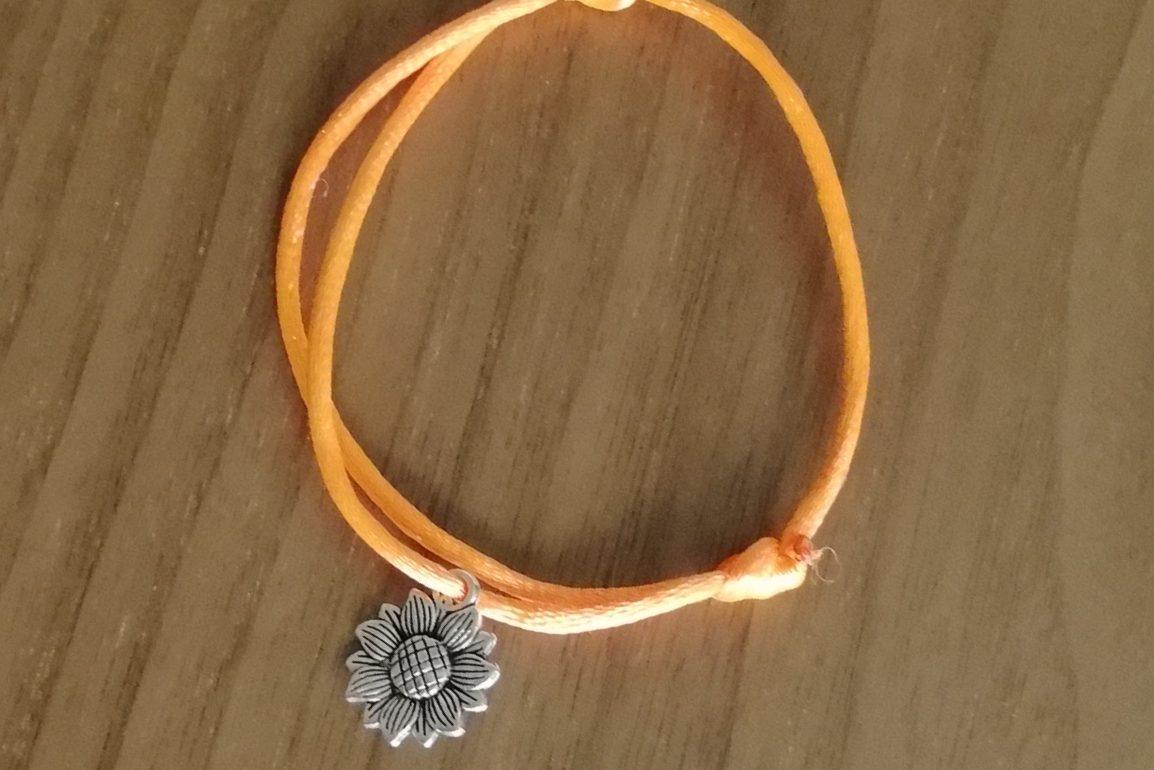 Pulsera Girasol Color naranja