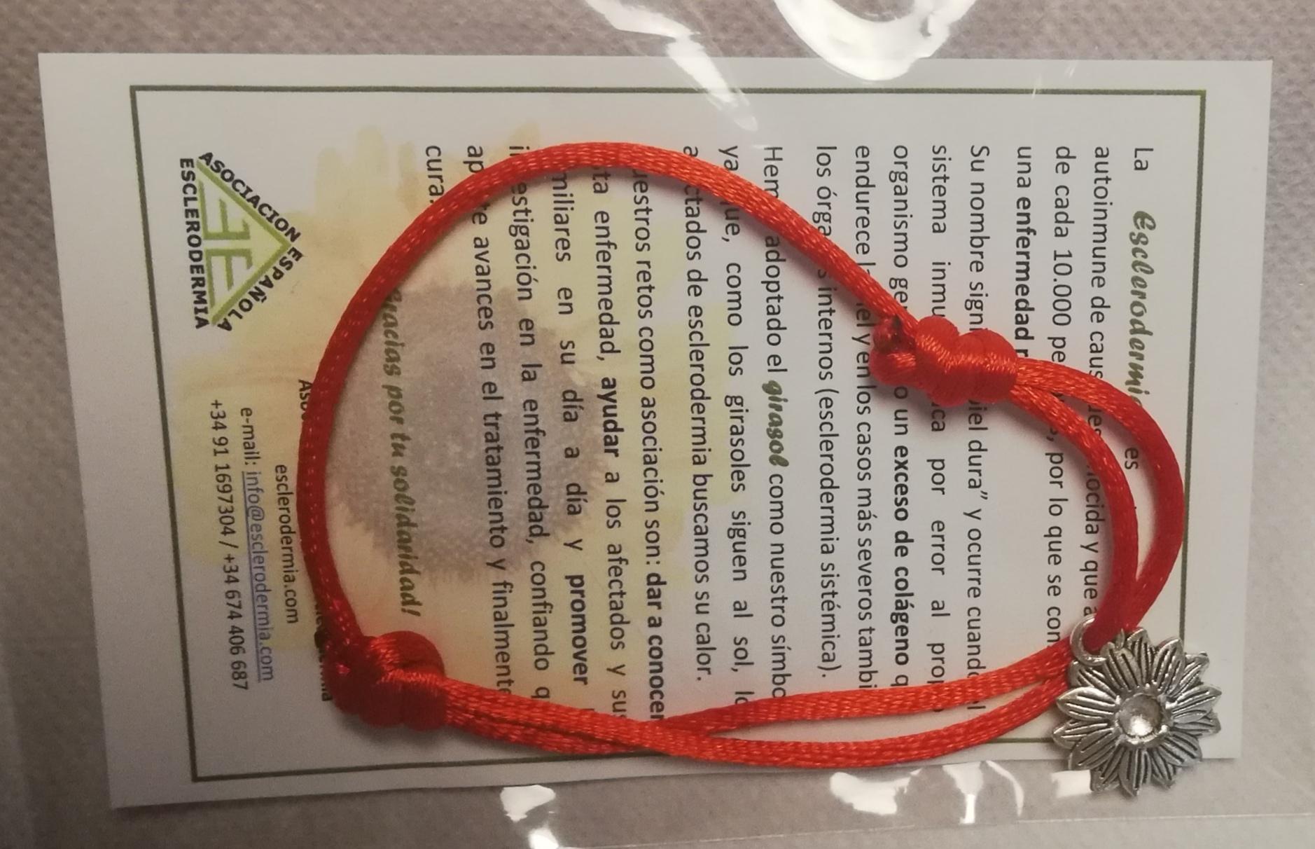 Pulsera Girasol Color rojo - 2
