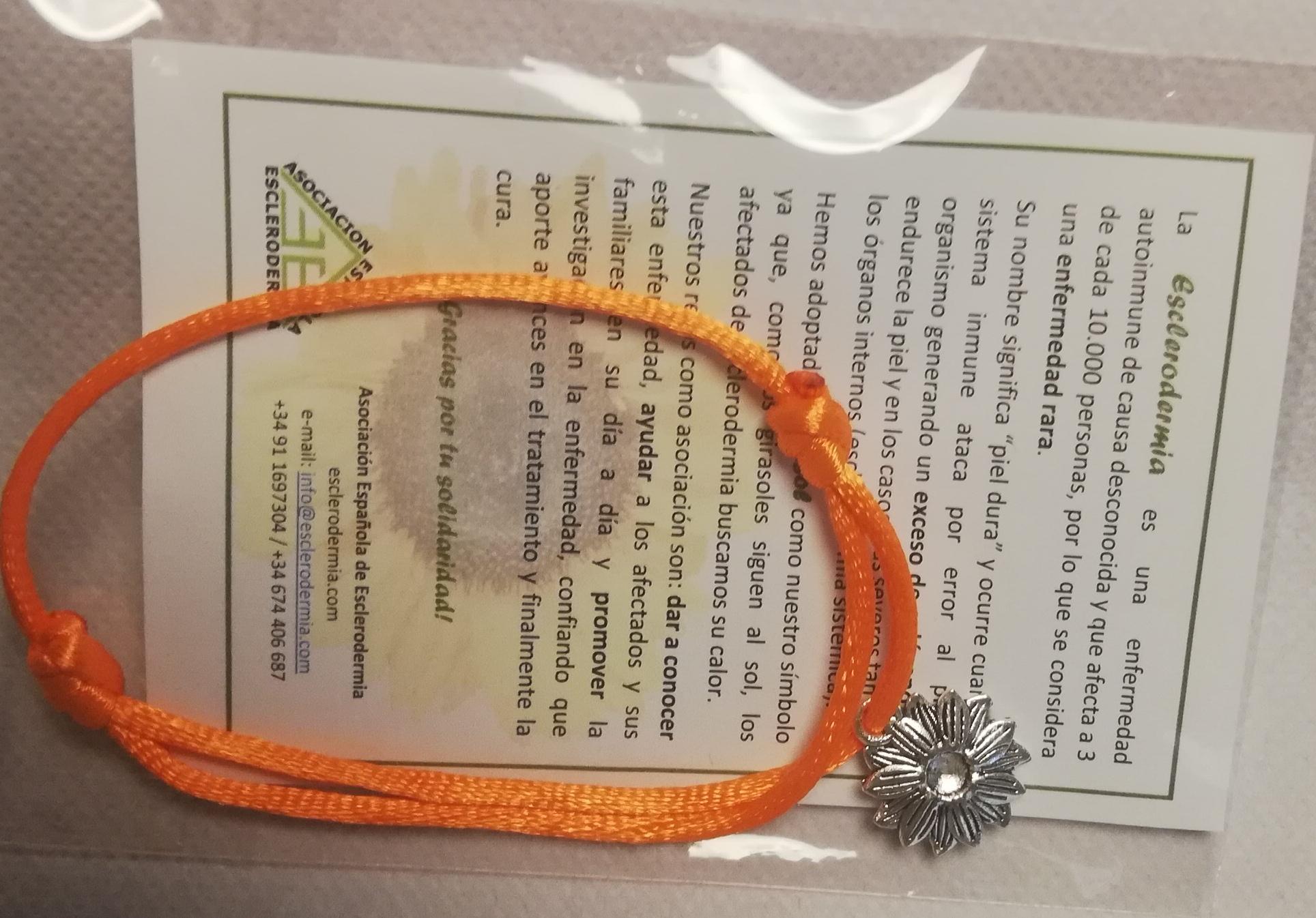 Pulsera Girasol Color naranja - 2
