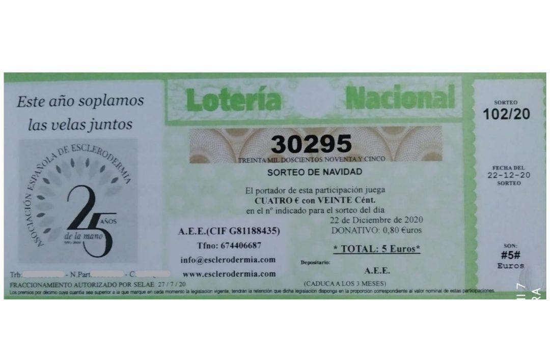 #LoteriaEsclerodermia 2020