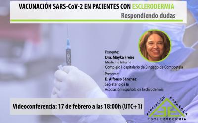 Vacunación SARS-CoV-2 en Esclerodermia