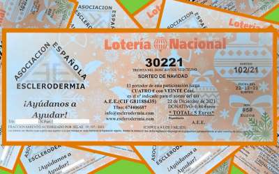 Vuelve la #LoteriaEsclerodermia 2021